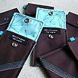 Atomic blue mini wallets
